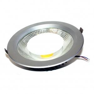 FL-LED DLA SILVER 30W 2700K/4200K D225xd205x65 30W 2600Lm встраиваемый круглый