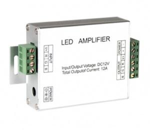 Усилитель сигнала для светодиодной ленты RGB 144W 12A