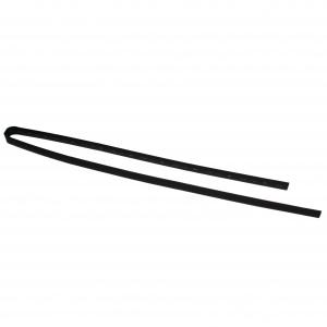 Трубка термоусаживаемая ТТУ 10/5 черная (1м)