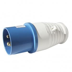 Вилка кабельная 16А 2Р+E IР44 переносная 250В 013