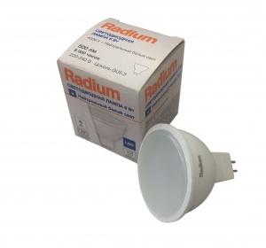 4008597191725 RL- MR16 75 6W/ 220V / WFL / 840 / GU5.3 (=75W) FR 500lm 6000h - LED лампа RADIUM