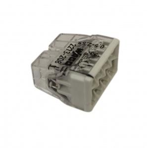 Клемма 8х(0.5-2.5мм) на 8 проводников (без пасты) WAGO 2273-208