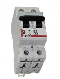 Выключатель авт. мод. 2п DX3-E