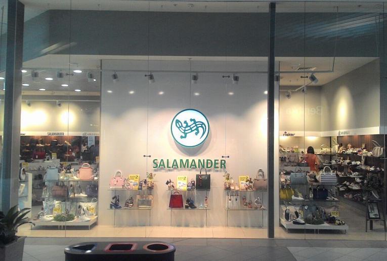 Проект освещения магазина Salamander
