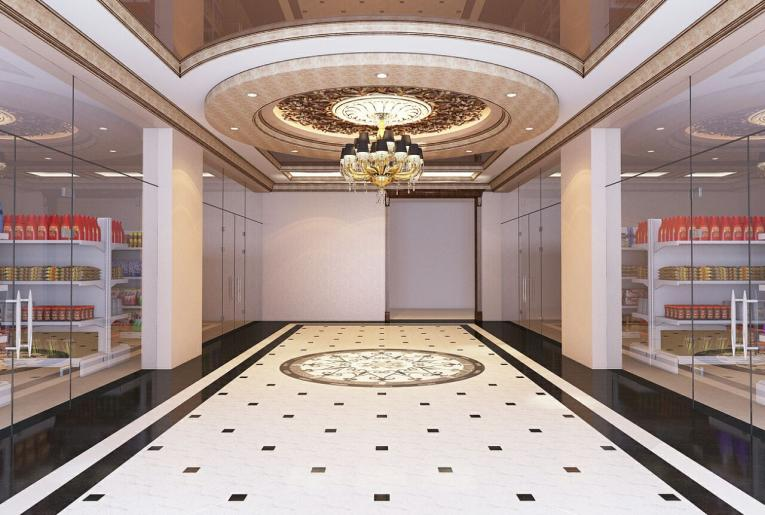 Проект освещения Офисно-делового центра в г. Грозный