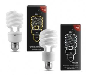 Энергосберегающая лампа Spiral E27